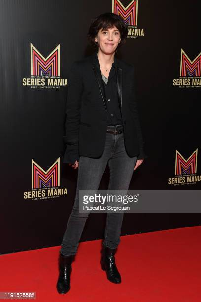 Florence LoiretCaille attends the Serie Mania photocall at Musee Des Arts Forains on December 02 2019 in Paris France