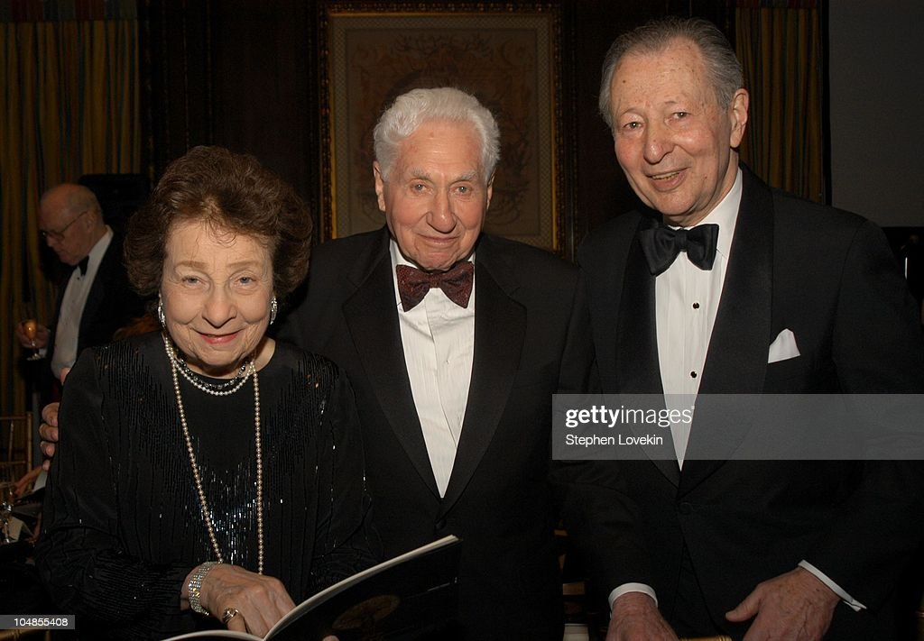 Florence Manson, Budd Schulberg and Arthur Manson, Chair of The Acadeny's New York Events Committee