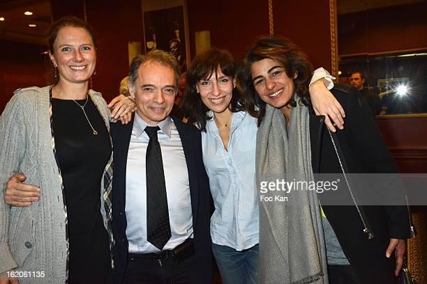 Florence Migraine Bourgnon, Maurice Belayche, Julie Debazac and Sarah Doraghi attend the 18 eme Edition des Journees du Livre et Du Vin 2013' - Jury...