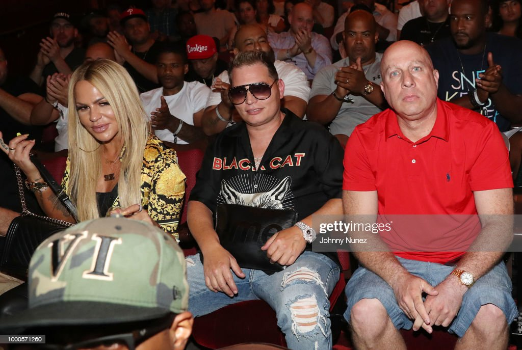 Florence Mirsky, Scott Storch, and Steve Lobel attend the