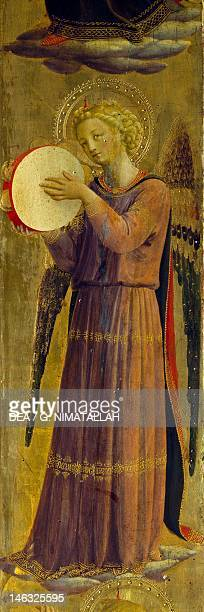 Florence Museo Di San Marco Tabernacle of the Linen Drapers 14321433 by Giovanni da Fiesole known as Fra Angelico tempera on wood Detail from the...