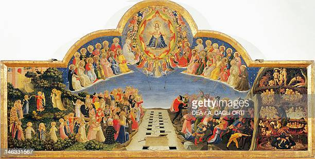 Florence Museo Di San Marco The Last Judgement by Giovanni da Fiesole known as Fra Angelico tempera on wood 105x210 cm