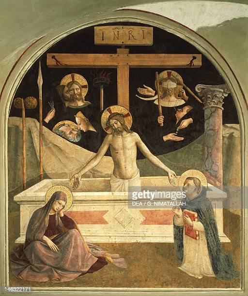Florence Museo Di San Marco The resurrection by Giovanni da Fiesole known as Fra Angelico Convent of San Marco Florence