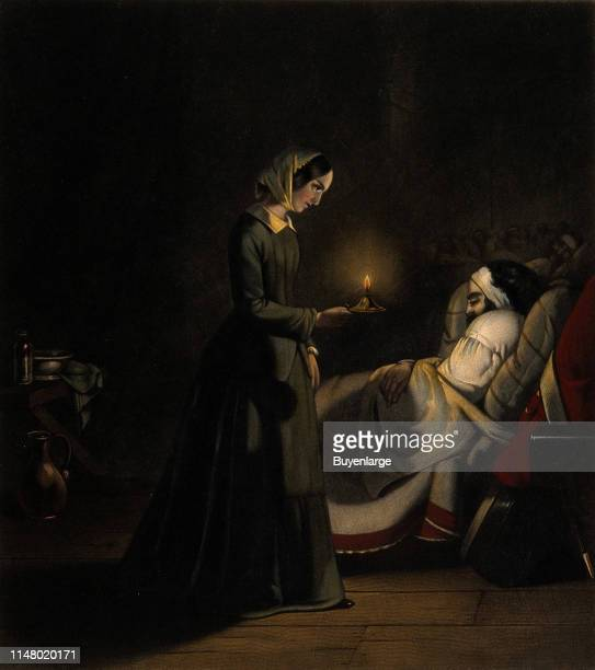 Florence Nightingale Angel of Mercy at the Scutari Hospital During the Crimean War Florence Nightingale Angel of Mercy