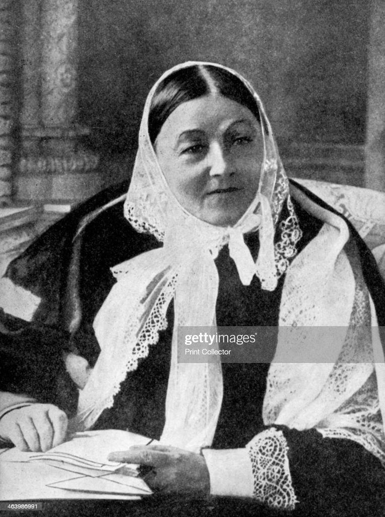 Florence Nightingale (1820-1910), c1900s (1936). : News Photo