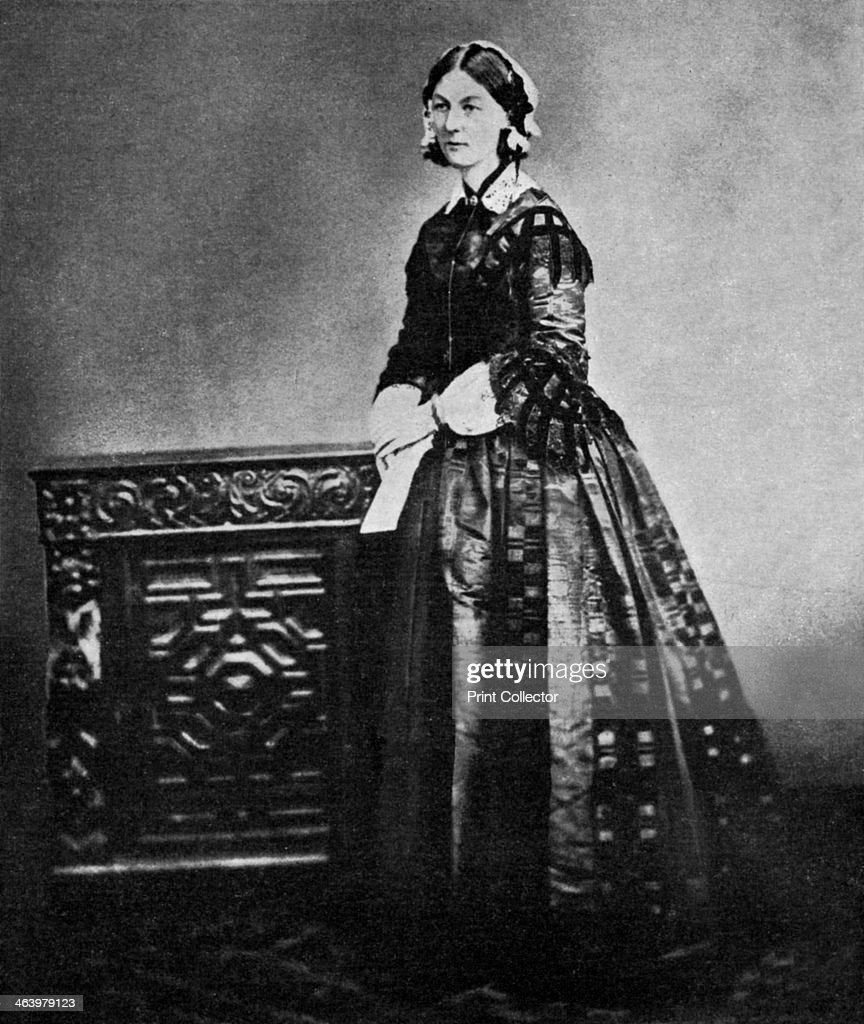 Florence Nightingale, English nurse and hospital reformer, 1855 (1951). : News Photo