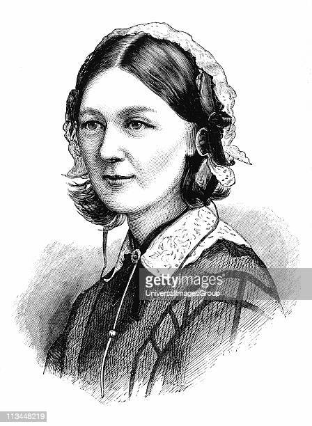 Florence Nightingale English nurse and statistician From The Illustrated Midland News 19 March 1870 Wood engraving