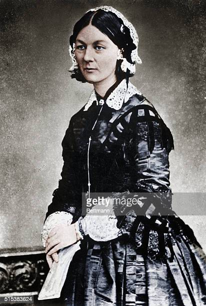 Florence Nightingale English nurse hospital reformer and philanthropist known as the lady with the lamp BPA2# 3009