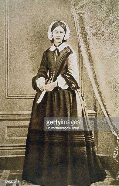 Florence Nightingale English nurse statistician and hospital reformer From a photograph