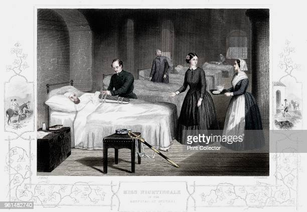 Florence Nightingale in the hospital at Scutari circa 1860 In 1854 during the Crimean War Sidney Herbert Secretary of State for War appointed the...