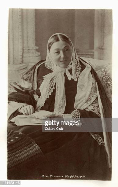 Florence Nightingale Pioneer Florence Nightingale Pioneer of modern nursing a writer and a noted statistician 12 May 1820 – 13 August 1910 Photograph...