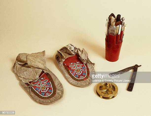 Florence Nightingale's moccasins made c 18501856 and said to have been worn by her in the Crimea Lord Nelson's hornhandled razor made c 17801805...