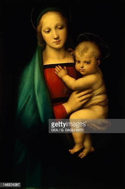 Florence Palazzo Pitti Galleria Palatina Madonna of the Grand Duke by Raphael Sanzio oil on wood 84x55 cm