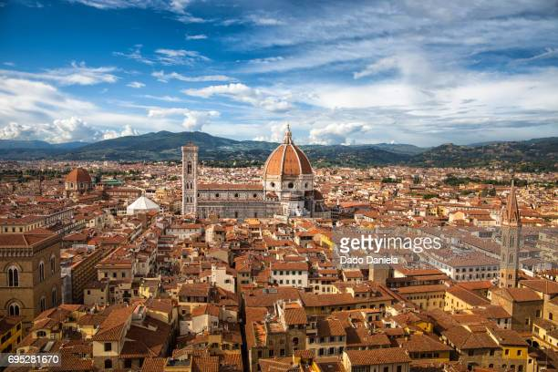 florence panorama - florence italy stock pictures, royalty-free photos & images