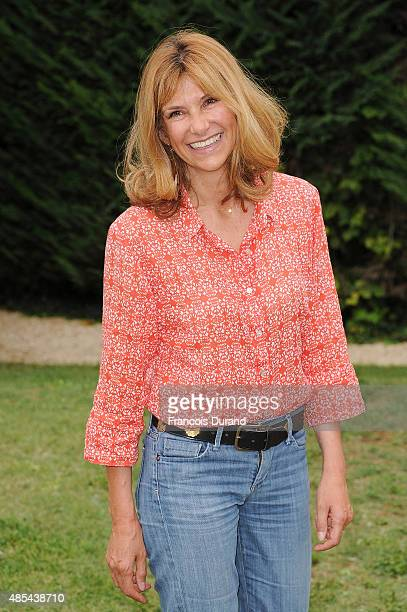 Florence Pernel attends the 8th Angouleme FrenchSpeaking Film Festival on August 27 2015 in Angouleme France