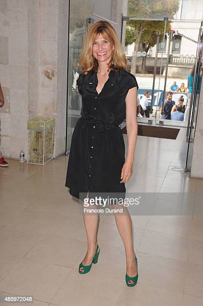 Florence Pernel attends the 8th Angouleme FrenchSpeaking Film Festival Closing Ceremony on August 30 2015 in Angouleme France