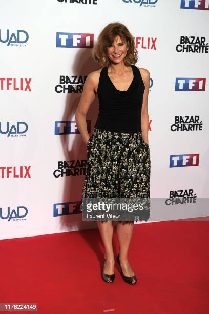 Florence Pernel attends the Le Bazar De La Charite Photocall At Le Grand Rex on September 30 2019 in Paris France
