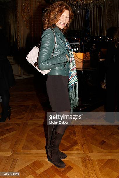 Florence Pernel attends the Tod's Signature Cocktail as part of Paris Fashion Week on March 5 2012 in Paris France