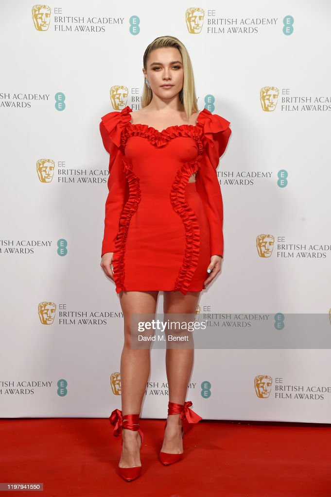 Florence Pugh Arrives At The Ee British Academy Film Awards 2020 News Photo Getty Images
