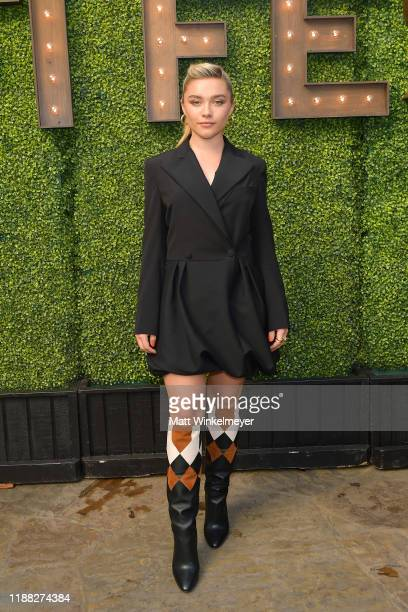 Florence Pugh attends the 'Indie Contenders Roundtable' presented by The Hollywood Reporter at AFI FEST 2019 presented by Audi at TCL at Hollywood...