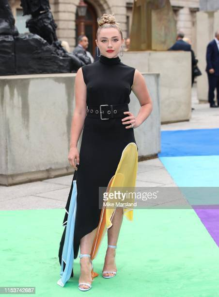 Florence Pugh attends the Royal Academy of Arts Summer exhibition preview at Royal Academy of Arts on June 04, 2019 in London, England.