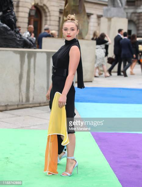 Florence Pugh attends the Royal Academy of Arts Summer exhibition preview at Royal Academy of Arts on June 04 2019 in London England