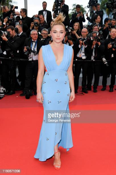 "Florence Pugh attends the screening of ""Le Belle Epoque"" during the 72nd annual Cannes Film Festival on May 20, 2019 in Cannes, France."