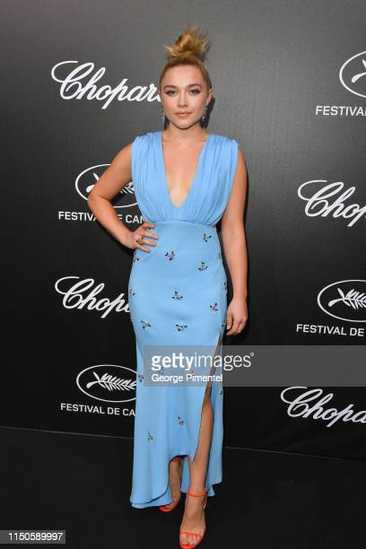 Florence Pugh attends the The Chopard Trophy event during the 72nd annual Cannes Film Festival on May 20, 2019 in Cannes, France.