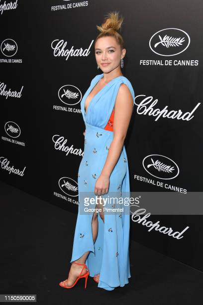 Florence Pugh attends the The Chopard Trophy event during the 72nd annual Cannes Film Festival on May 20 2019 in Cannes France