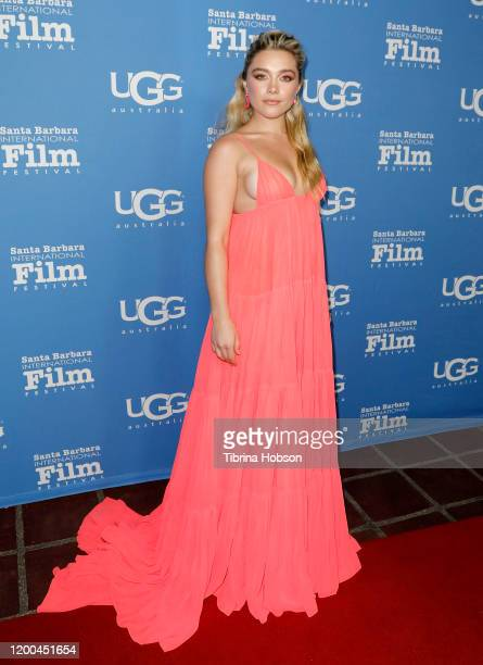 Florence Pugh attends the Virtuosos Award presentation during the 35th Santa Barbara International Film Festival at Arlington Theatre on January 18,...