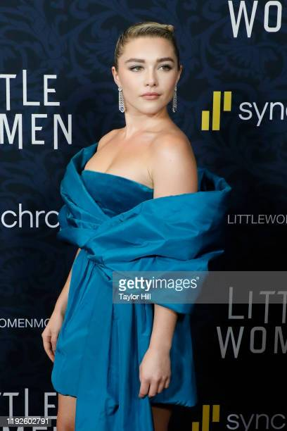 """Florence Pugh attends the world premiere of """"Little Women"""" at Museum of Modern Art on December 07, 2019 in New York City."""