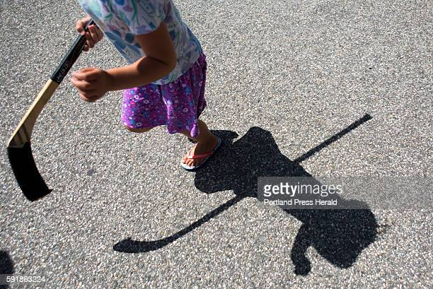 Florence Radford of Biddeford brought her hockey stick with her to see Brian Dumoulin and the Stanley Cup Dumoulin brought the Stanley Cup back to...