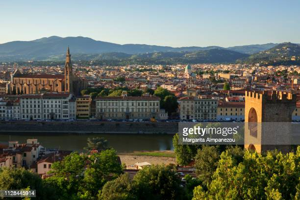 Florence skyline view from Piazzale Michelangelo