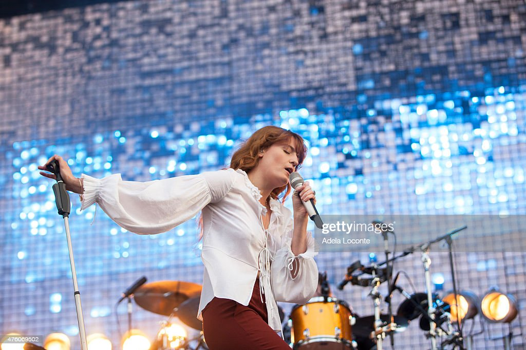 Florence + The Machine at Governors Ball Music Festival - Day 1 at Randall's Island on June 5, 2015 in New York City.