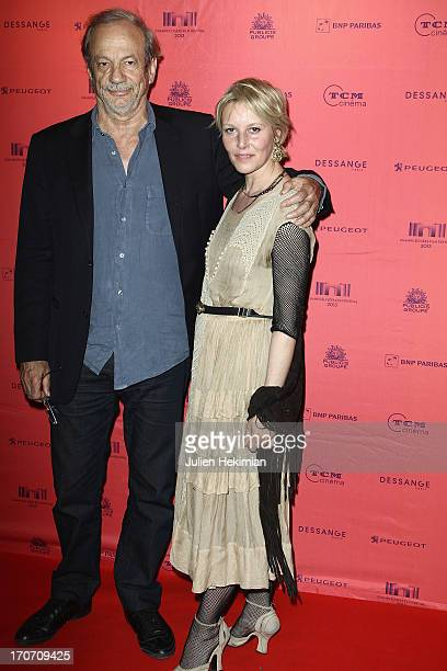 Florence Thomassin and Patrick Chesnais attend '12 Ans D'Age' Premiere As Part of The Champs Elysees Film Festival 2013 at UGC George V on June 16...