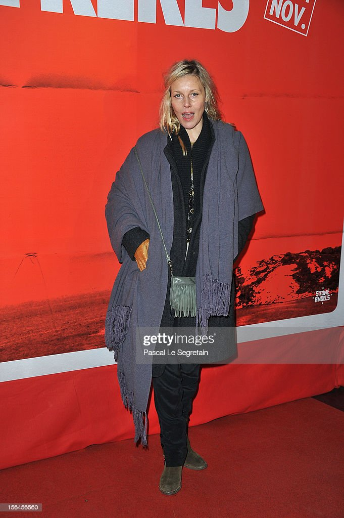 Florence Thomassin attends 'Comme Des Freres' Premiere at Cinema Gaumont Opera on November 15, 2012 in Paris, France.