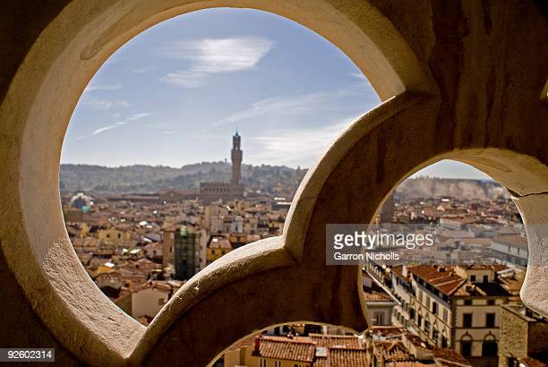 Florence Through the Window