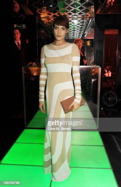 Florence Welch attends an after party celebrating the launch of 'Kate The Kate Moss Book' hosted by Marc Jacobs published by Rizzoli New York and...