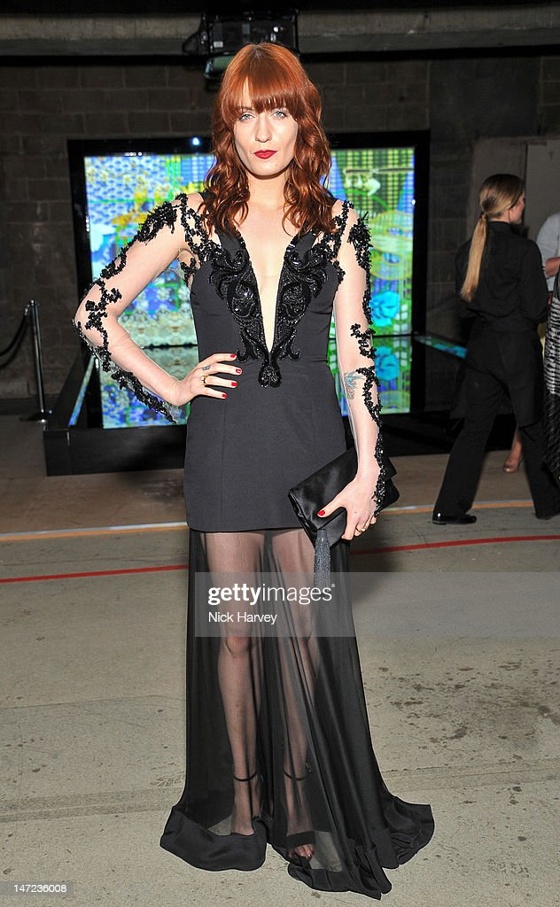Florence Welch attends Britain Creates 2012 at Old Selfridges Hotel on June 27, 2012 in London, England.