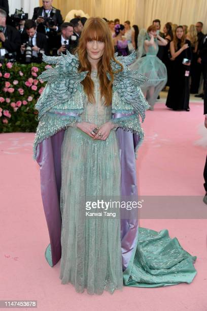 Florence Welch attends The 2019 Met Gala Celebrating Camp Notes On Fashion at The Metropolitan Museum of Art on May 06 2019 in New York City