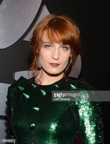 Florence Welch attends the 55th Annual GRAMMY Awards at STAPLES Center on February 10 2013 in Los Angeles California