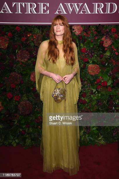 Florence Welch attends the 65th Evening Standard Theatre Awards at London Coliseum on November 24 2019 in London England