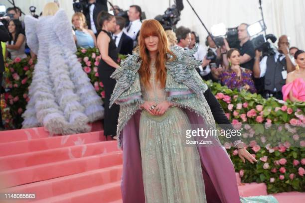 Florence Welch attends The Metropolitan Museum Of Art's 2019 Costume Institute Benefit Camp Notes On Fashion at Metropolitan Museum of Art on May 6...
