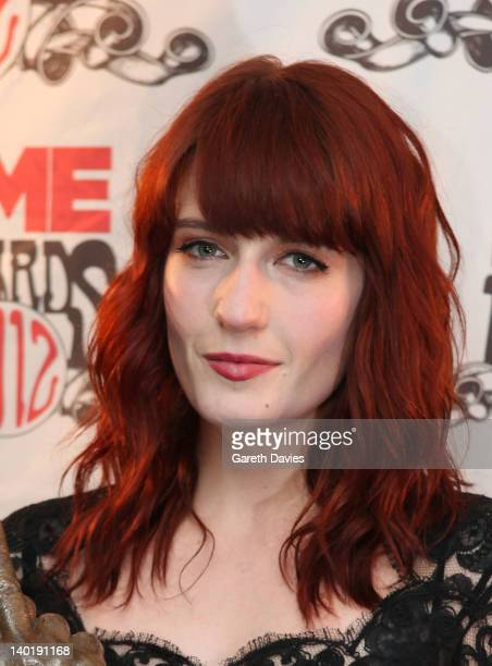 Florence Welch attends The NME Awards 2012 at The o2 Academy Brixton on February 29 2012 in London England