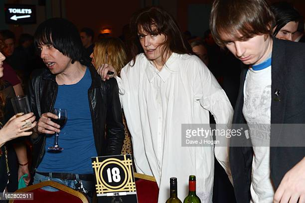 Florence Welch attends the NME Awards 2013 party at The Troxy on February 27 2013 in London England