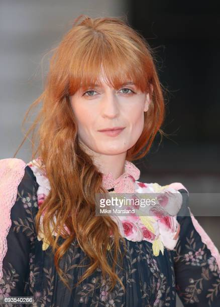 Florence Welch attends the preview party for the Royal Academy Summer Exhibition at Royal Academy of Arts on June 7 2017 in London England