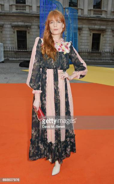 Florence Welch attends the Royal Academy Of Arts Summer Exhibition preview party at Royal Academy of Arts on June 7 2017 in London England