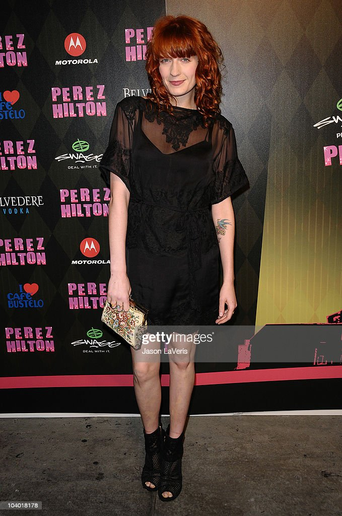 Florence Welch of Florence and the Machine attends  One Night In Los  Angeles  at 49dc9fffe