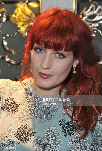 Florence Welch of Florence and The Machine attends the English National Ballet's Summer Party at The Dorchester on June 15, 2010 in London, England.
