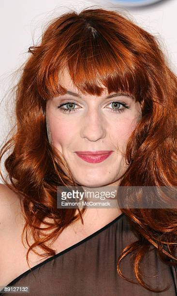 Florence Welch of Florence And the Machine attends the nominations for the 2009 Barclaycard Mercury Prize at The Hospital on July 21 2009 in London...